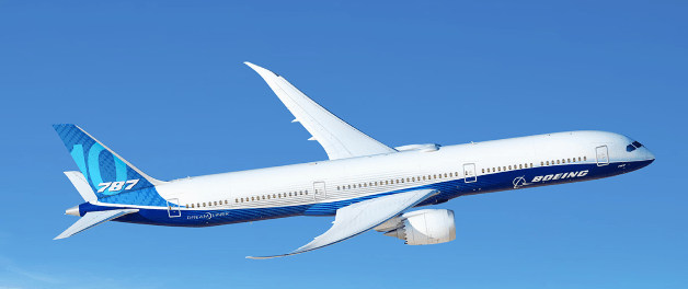 Investment Aircraft B787